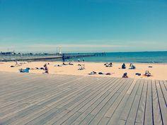 Saint Kilda | Flickr - Photo Sharing! St Kilda, Saints, Spaces, Beach, Water, Outdoor, Gripe Water, Outdoors, Seaside