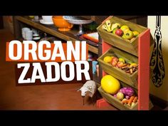 DIY - ORGANIZADOR de MADEIRA - YouTube