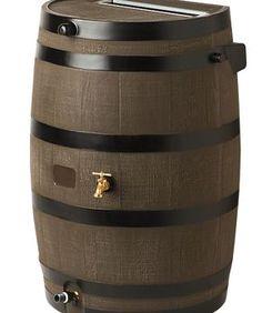 Flat-Back Rain Barrel - $149
