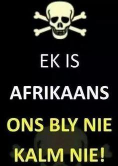 Ek is Afrikaans