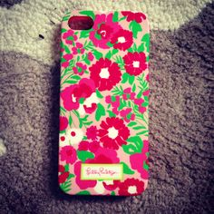Lily pulitzer... Don't even have an iPhone but i want it