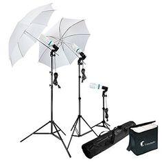 Photography Photo Portrait Studio 600W Day Light Umbrella...