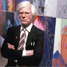 Artist Andy Warhol Artist Studio Space, Warhol, Famous Artists, Great Artists, Artist, Visual Art, Art Historian, Portrait, Pop Art