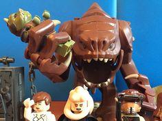 How to Build a Lego Rancor Star Wars Birthday Cake, Baby Items, Geek Stuff, Ebay, Geek Things