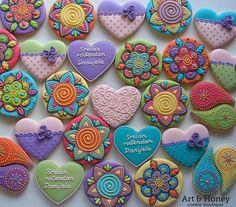 Art and Honey cookies