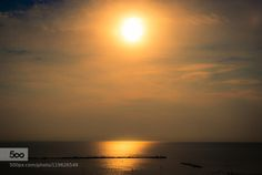 Summer sun by glbN  Clouds Italy Sea Sky Summer Sun Summer sun glbN