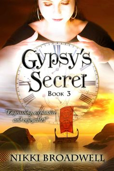 #TimeTravel #Fantasy Gypsy's Secret is the final book in this adventure trilogy with the magical boat, Gypsy.