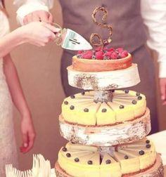 22 Yummy Und Trendy Käsekuchen Hochzeitstorten
