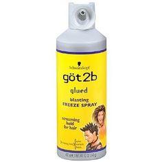 Got 2 Be Glued hairspray... awsome for teasing and mega hold!