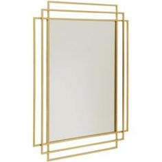 Remind yourself of how great you look with this super stylish square mirror from Nordal. With a classic Art Deco style, it features a glamorous geometric design and comes in a choice of a gold or blac Wall Mirrors Horizontal, Wall Mirrors Entryway, White Wall Mirrors, Rustic Wall Mirrors, Living Room Mirrors, Round Wall Mirror, Mirror House, Mirror Vanity, Furniture