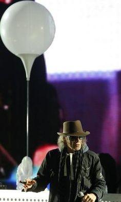Bis in die Abendstunden dauerte das Bürgerfest, an dem Stars wie Daniel Barenboim oder Udo Lindenberg teilnahmen.
