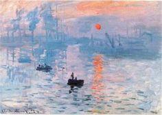 Impression, Sunrise (1872) by Claude Monet