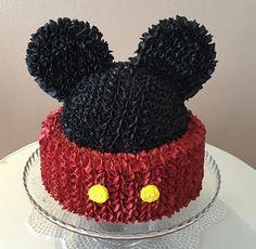 Bolo Mickey chantininho Cake Mickey Mouse