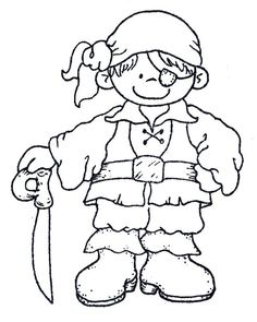 top 25 pirates coloring pages for toddlers - Colouring Activities For Toddlers