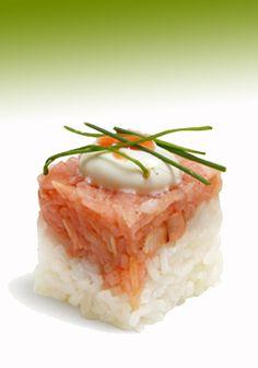 Rice Cube (modern Sushi)