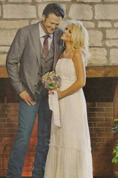 I am obsessed with Blake and Miranda's wedding!