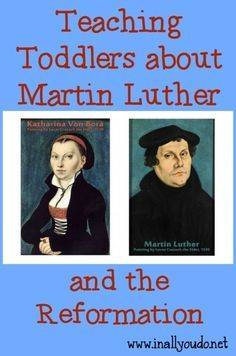 Use this fun activity to teach your Toddlers about Reformation Day when Martin Luther posted his 95 Theses.