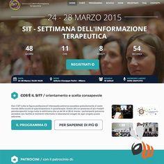 SIT: #logo #design & progettazione #website dell #evento di #orientamento degli #studenti. Il successo in un #click. #project #web #marketing #branding #event #location #milano #milan #school #student #follow #bestoftheday #picoftheday #phooftheday #womboit