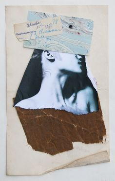 TUMBLR-ACCOUNT (stremplerart.tumblr.com) Collage EMPFANG, W. Strempler, 2016