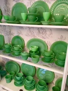Jojo's dining room jadeite
