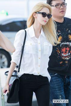 150610 yoona's airport fashion