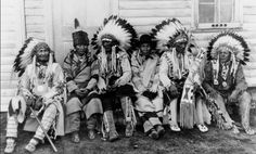 Older men,Siksika.1930. Names unknown. Native pride and respect- elders.... Yes I'm Native