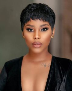 Cute short hairstyles wigs for black women lace front wigs human hair wigs african american wigs the same as the hairstyles in picture buy now Short Sassy Hair, Cute Hairstyles For Short Hair, Short Hair Cuts, Straight Hairstyles, Curly Hair Styles, Natural Hair Styles, Halle Berry Short Hair, Relaxed Hairstyles, Black Women Short Hairstyles