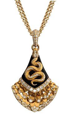 Diamond, Onyx & Sapphire Ring - Magerit Mythology collection