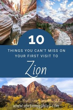 Zion National Park is one of the most beautiful places in Utah, and should be on everybody's bucket lists!  Planning an itinerary for your family vacation can be a challenge though, that is why I'm sharing this list of 10 things to do in Zion.  Whether you are hiking with kids, camping with families, or are on a solo photography adventure this list will give you the tips you need to get on the trail of the best hikes and have an epic road trip!  Don't miss number 8! Zion National Park, National Parks, Hiking With Kids, Number 8, Land Of Enchantment, Best Hikes, Amazing Destinations, Bucket Lists, Cool Places To Visit