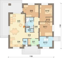 DOM.PL™ - Projekt domu ARN Aframon CE - DOM RS1-96 - gotowy koszt budowy House Plans, Floor Plans, How To Plan, Home, Blueprints For Homes, Home Plans, Ad Home, Homes, House Design