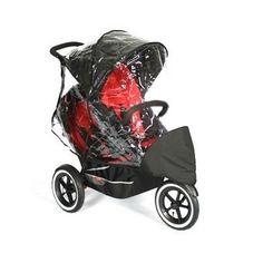 Double Jogging Stroller Rain Cover | Best Baby Trends Jogging ...