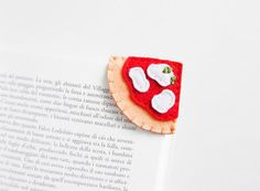 Adorable Food-Inspired Bookmarks Sit Neatly On The Corners Of Pages
