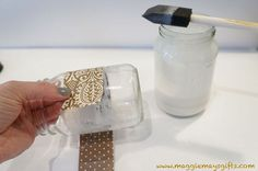 make your own mod podge much cheaper for decor and craft projects, crafts, decoupage