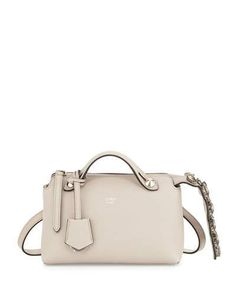 4a807e73ce Fendi By The Way Mini Crystal-Croc-Tail Satchel Bag