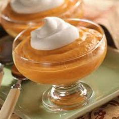 Vegan pumpkin pudding LET'S GET IT ON