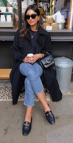 Winter Fashion Outfits, Casual Fall Outfits, Classy Outfits, Autumn Winter Fashion, Fashion Mode, Look Fashion, Look Retro, Mode Outfits, Short