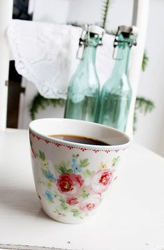 Greengate Simone White, my home, Coffee,Havets Sus, Denmark