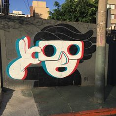 Mauro Golin aka Muretz just sent us some images from his latest street piece which was painted in the city of Sao Paulo in Brazil.