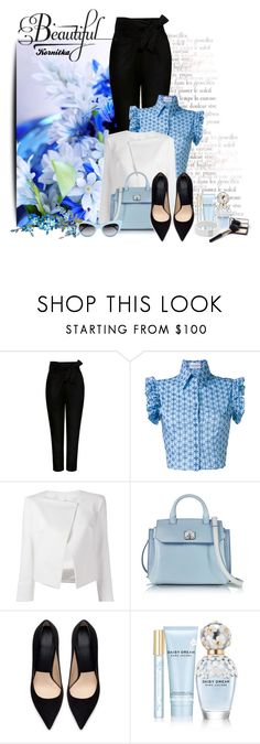 """""""nr 1352 / Working Woman"""" by kornitka ❤ liked on Polyvore featuring IRO, Daizy Shely, Plein Sud Jeanius, MCM, Zara, Marc Jacobs and Roberto Demeglio"""