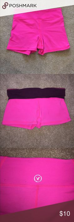 American Eagle Wok Out Shorts Stretchy and soft! American Eagle Outfitters Shorts