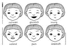 Gefühle Stimmung Gesicht Gesichtsausdruck | Illustratoren für Flüchtlinge