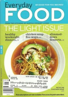 Everyday Food Magazine January/February 2012 « Library User Group