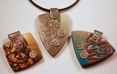 Bead Show: Bead Show Workshops & Classes: Tuesday June 5, 2012: B121959 Polyform Products Presents: Riveted Metal Clay and Polymer Clay