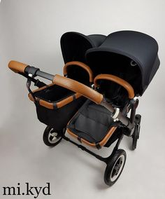Genuine Leather handle bar cover & Bumper Bar cover for Bugaboo Donkey Mono Duo Twin Bugaboo Donkey Duo, Bugaboo Stroller, Twin Strollers, Double Strollers, My Bebe, Baby Prams, Twin Babies, Baby Boys, Baby Twins