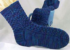 Ravelry: Crystalline Socks pattern by Cailyn Meyer