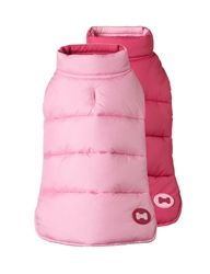 Reversible Bone Ski Vest-Pink