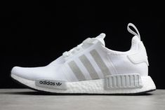 2020 adidas NMD R1 RUNNER Primeknit White Outlet Online FY9668 Adidas Nmd R1, Adidas Sneakers, Shoes, Women, Fashion, Moda, Shoe, Shoes Outlet, Fashion Styles