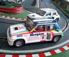 Los Renault Maxicinco Turbo son, además de bonitos, para disfrutarlos en la pista. Pura diversión!