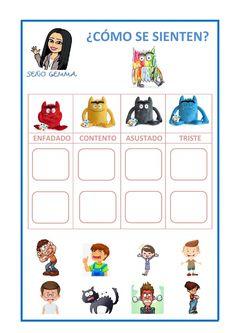 Monster Activities, School Subjects, Teaching Spanish, Your Teacher, School Classroom, Kids Education, Social Skills, Pre School, Learning