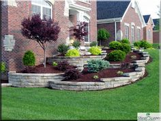 low maintenance landscaping around house » Design and Ideas